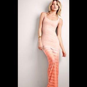 Victoria Secret Ombré Eyelet Maxi dress